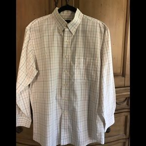 Jos A Banks Windowpane Shirt